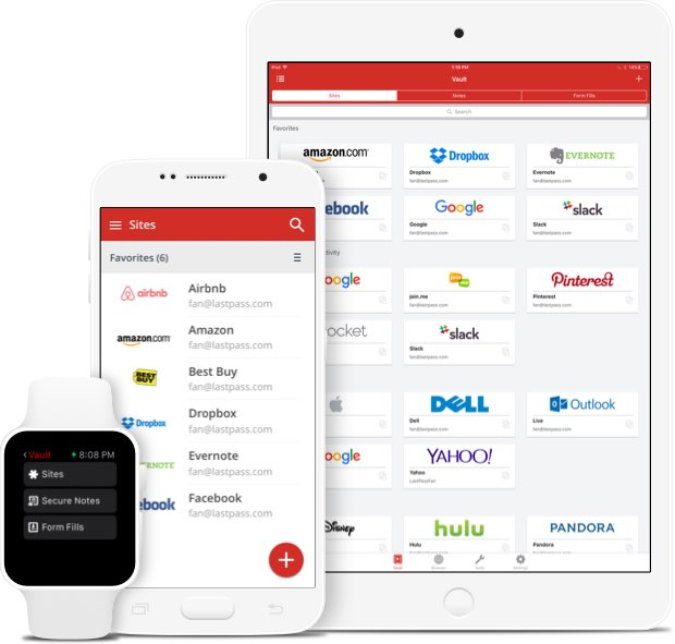Changes to Dropbox and LastPass Free Password Managers