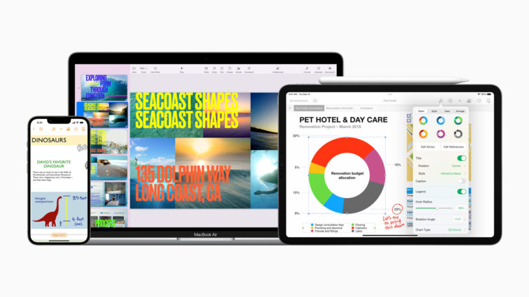 New productivity features come to iWork apps